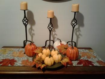 Adorable pumpkin cakes