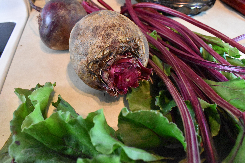 Fresh beets
